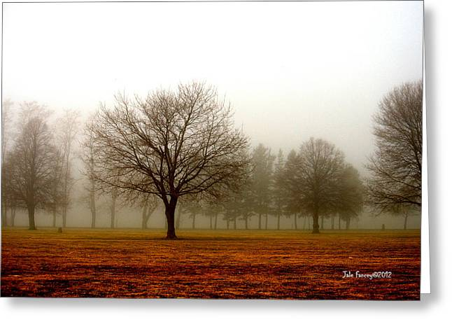 Love Foggy Mornings Greeting Card
