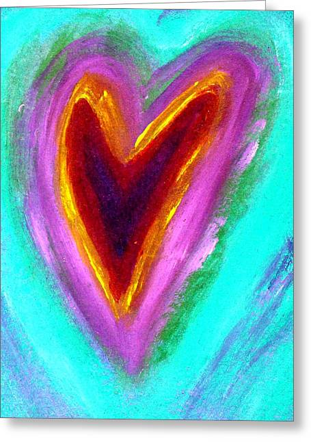 Love From The Heart Greeting Card