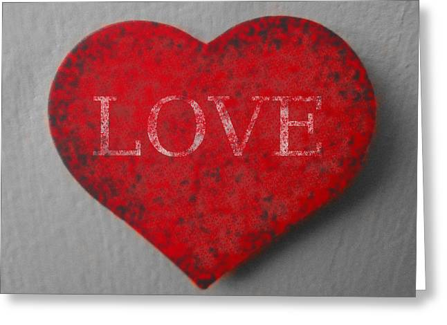 Love Heart 1 Greeting Card by Richard Reeve