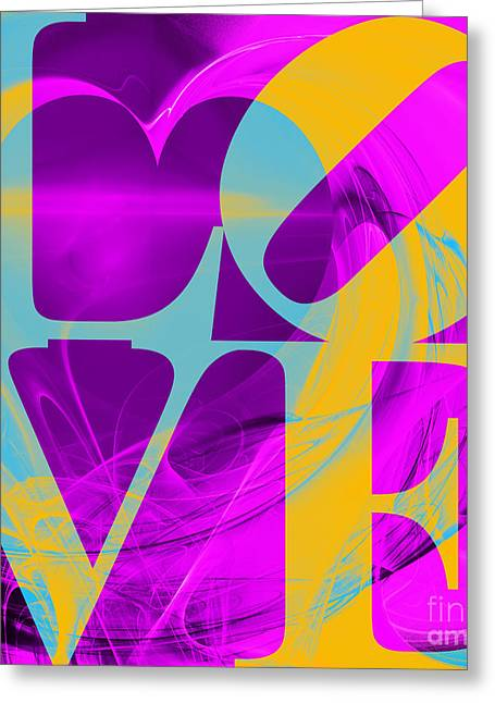 Love Heart 20130707 V1 Greeting Card by Wingsdomain Art and Photography