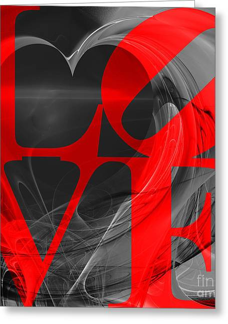 Love Heart 20130707 V1b Greeting Card