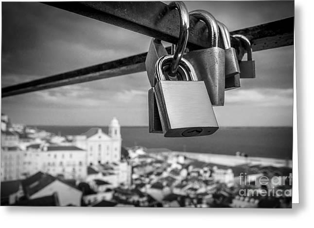 Love In Lisbon Greeting Card