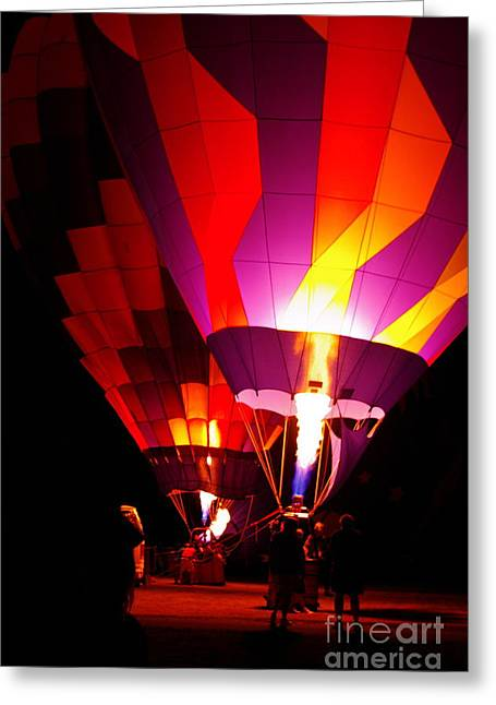 Greeting Card featuring the photograph Love Is In The Air by Nancy Cupp