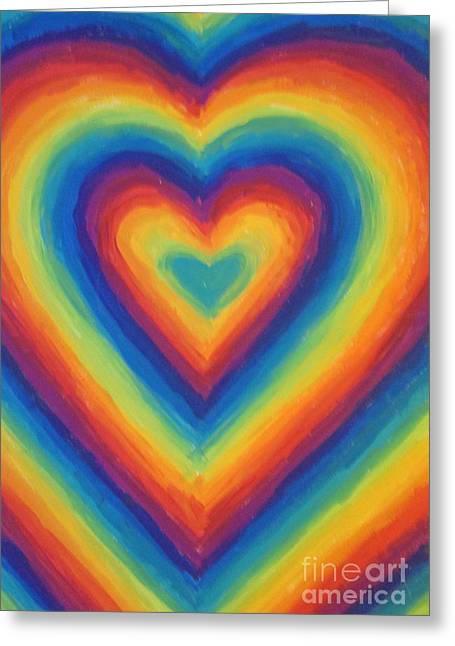 Love Greeting Card by Jedidiah Morley