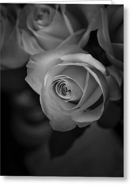 Love Letter Bw Greeting Card by Ernie Echols