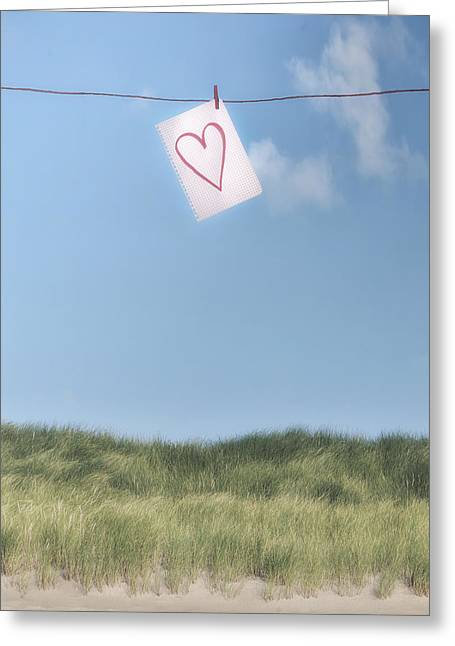 Love Letter From Cloud 9 Greeting Card