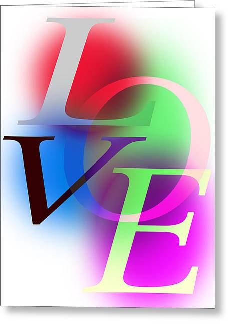 Love Letters Greeting Card by Daniel Hagerman