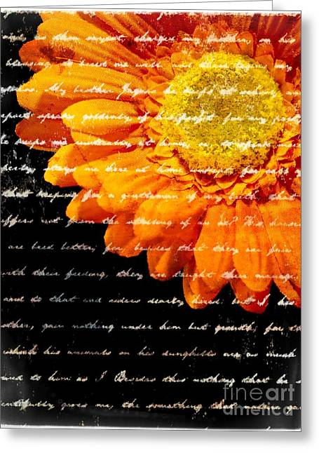 Love Letters Greeting Card by Edward Fielding