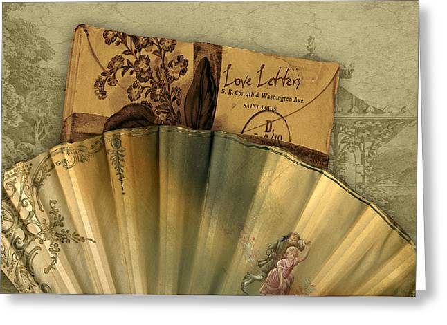 Love Letters Greeting Card by Sarah Vernon