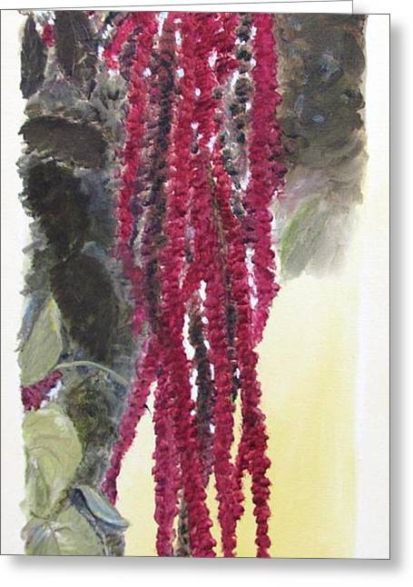 Love Lies Bleeding Greeting Card