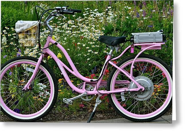 Love My Bike Greeting Card