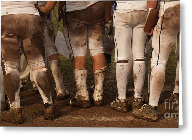 Love Of The Game Panorama Greeting Card by Anna Lisa Yoder