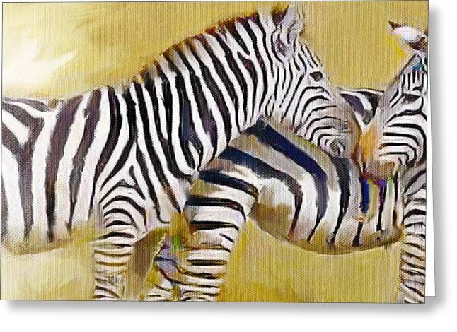 Love On The Savanna Greeting Card