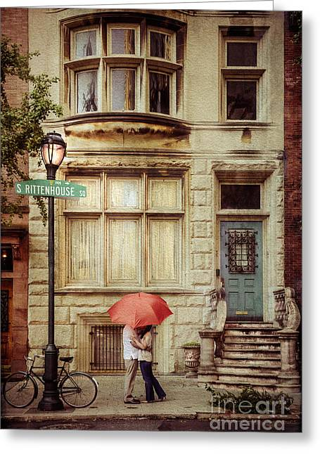 Love On The Square Greeting Card