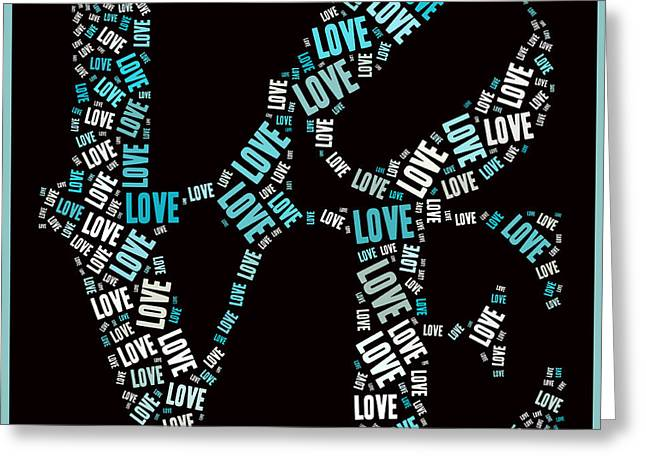 Love Quatro - S01a Greeting Card by Variance Collections