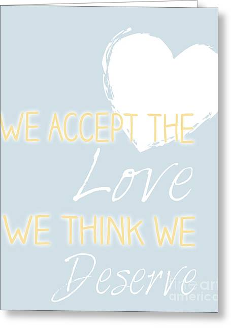 Love Quote Greeting Card by Pati Photography