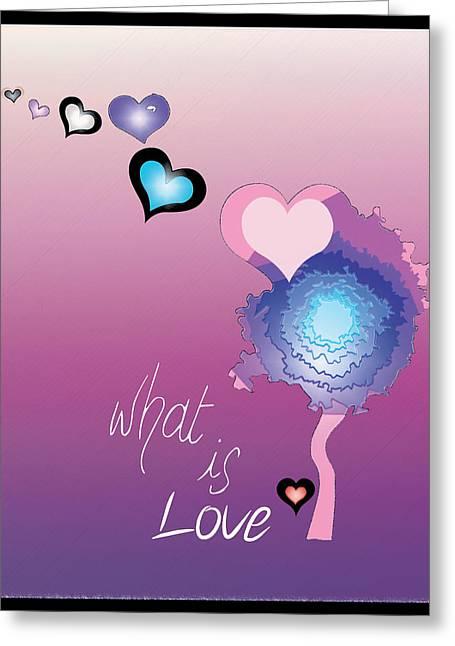 Love Greeting Card by Sara Ponte