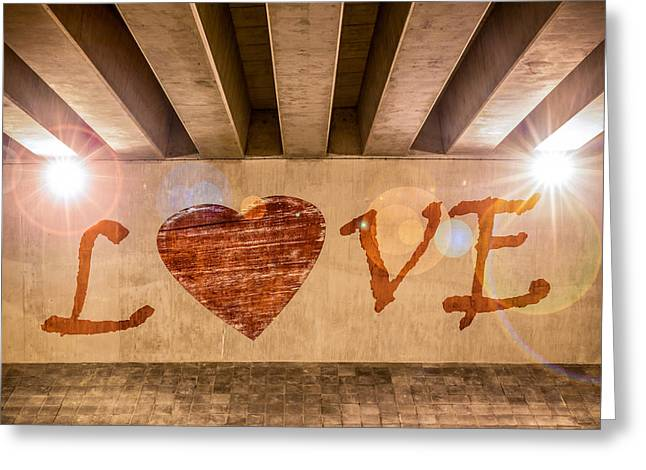 Love Greeting Card by Semmick Photo
