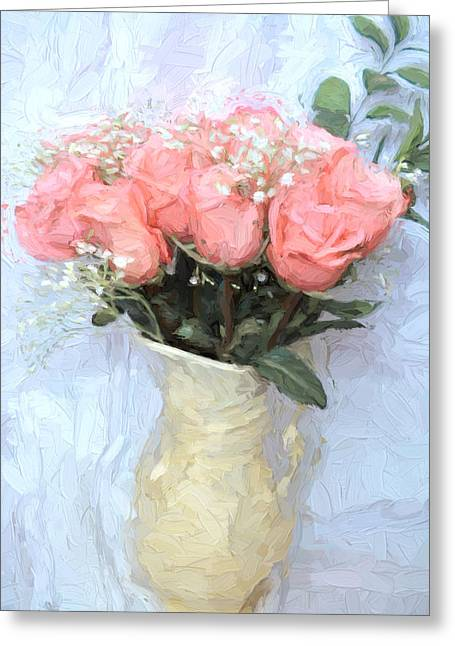 Love Silently - Flower Art Greeting Card