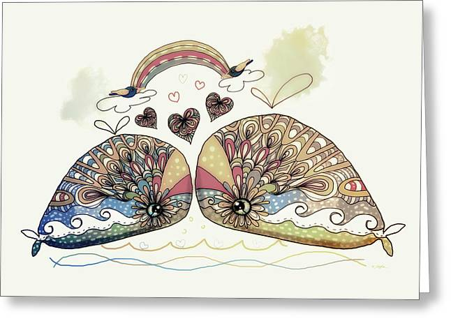 Love Sweet Love Greeting Card by Karin Taylor