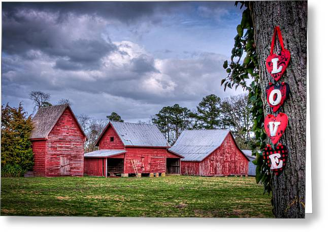 Love The Barns At Windsor Castle Greeting Card by Williams-Cairns Photography LLC