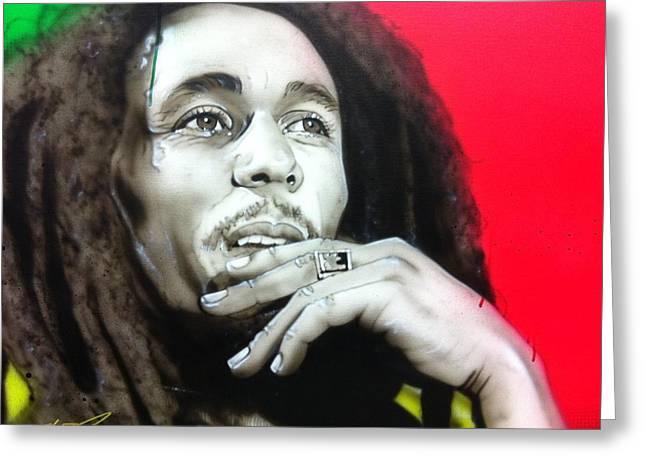 Rastafarian greeting cards fine art america love the life you live live the life you love greeting card m4hsunfo