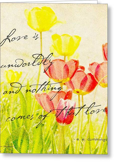 Love Words Greeting Card