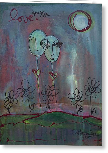 Love You Give Lollipops Greeting Card