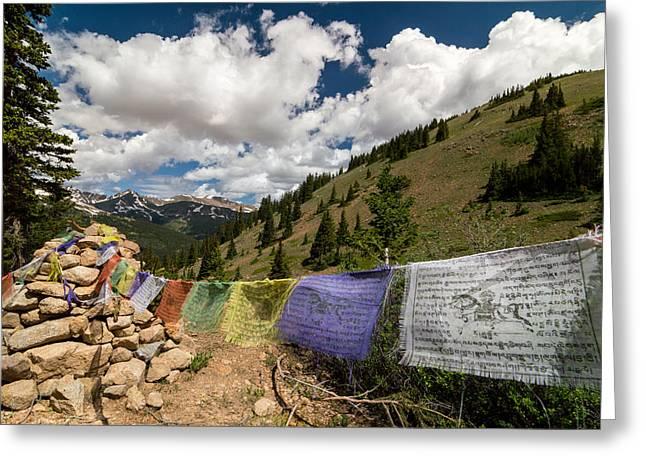 Loveland Pass Shrine Greeting Card by Michael J Bauer