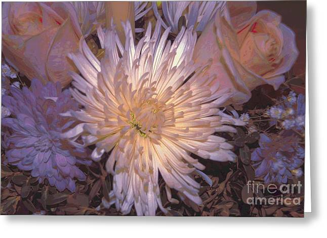 Lovely Bouqet  Greeting Card by Kathleen Struckle