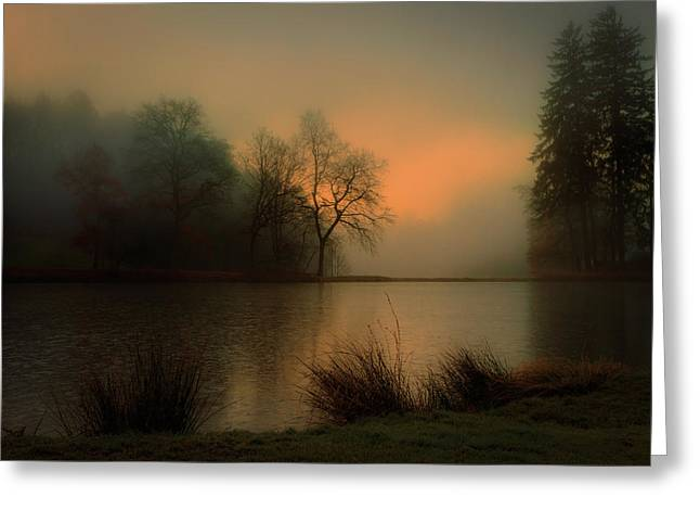 Lovely Dawn Greeting Card