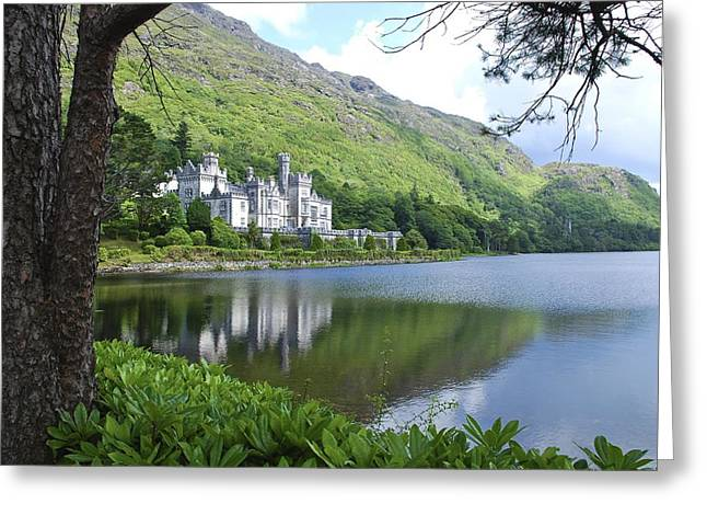 Lovely Kylemore Abbey Greeting Card