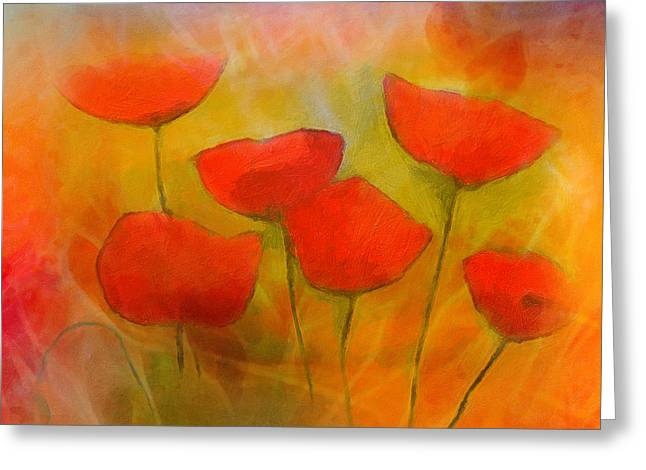 Lovely Poppies Greeting Card