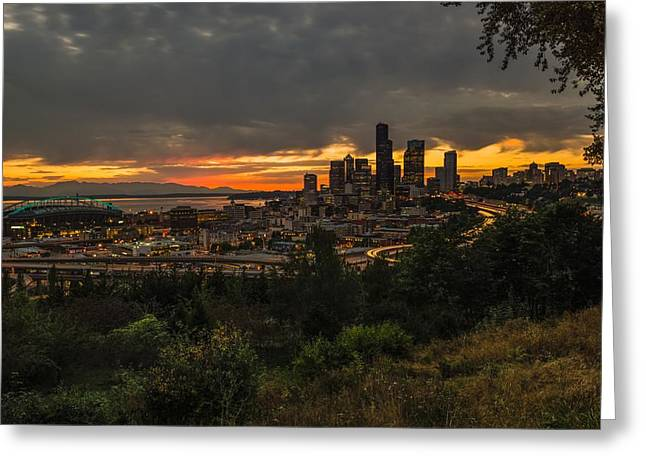 Lovely Seattle Greeting Card