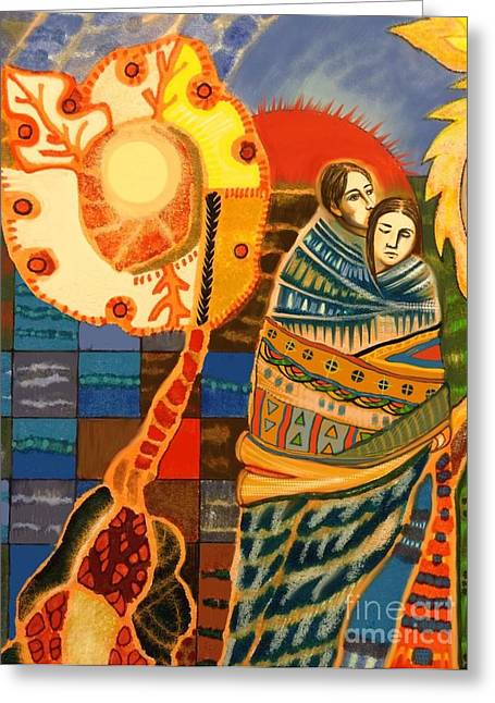 Lovers Greeting Card by Diane Soule
