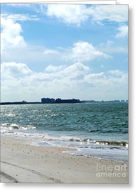 Greeting Card featuring the photograph Lovers Key Beach by Oksana Semenchenko