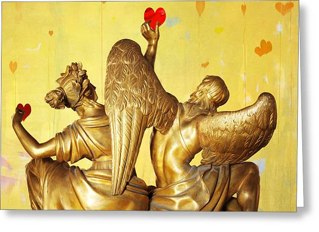 Love's Angel  C2014 Greeting Card by Paul Ashby