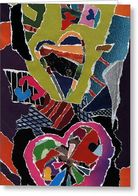 Love's It Greeting Card by Kenneth James