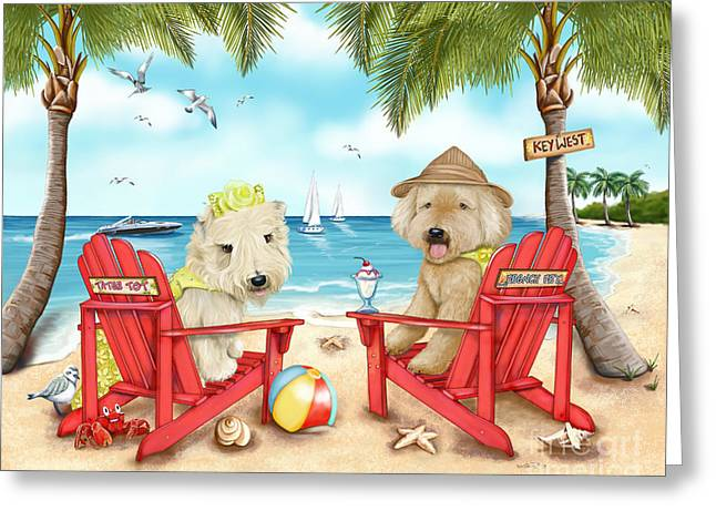 Loving Key West Greeting Card