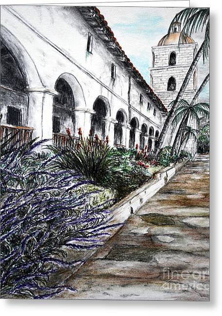 Low Angle Perspective Greeting Card by Danuta Bennett