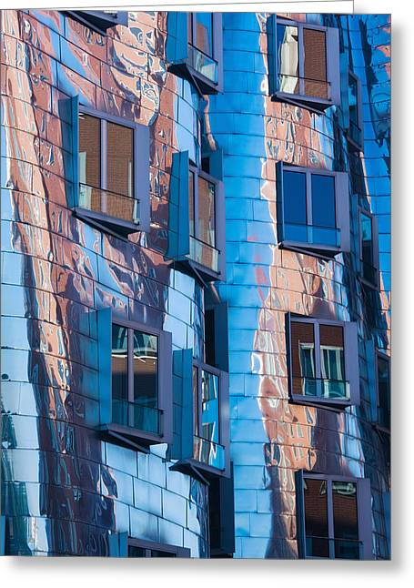 Low Angle View Of A Building, Neuer Greeting Card by Panoramic Images