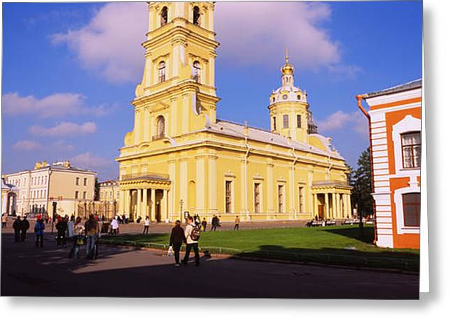 Low Angle View Of A Cathedral, Peter Greeting Card by Panoramic Images