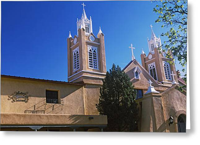 Low Angle View Of A Church, San Felipe Greeting Card