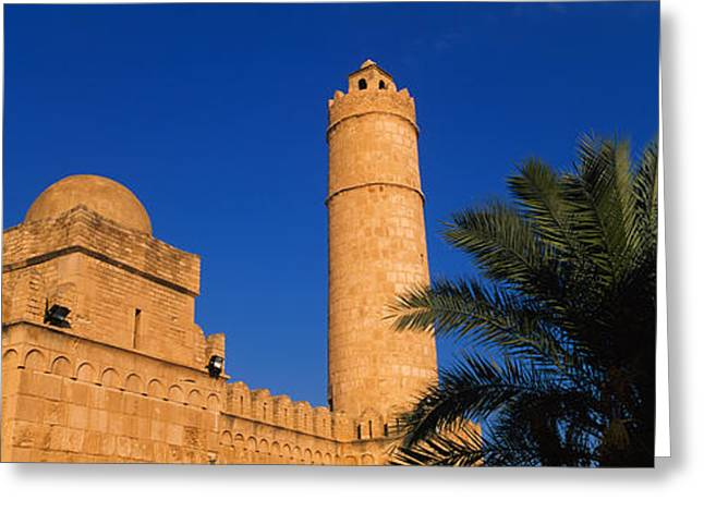 Low Angle View Of A Fort, Medina Greeting Card by Panoramic Images