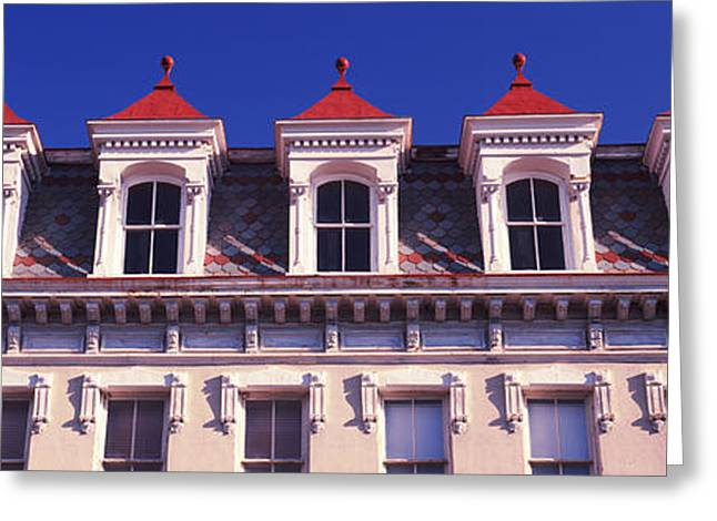 Low Angle View Of A Historic Building Greeting Card