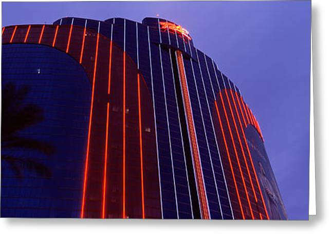 Low Angle View Of A Hotel, Rio All Greeting Card by Panoramic Images