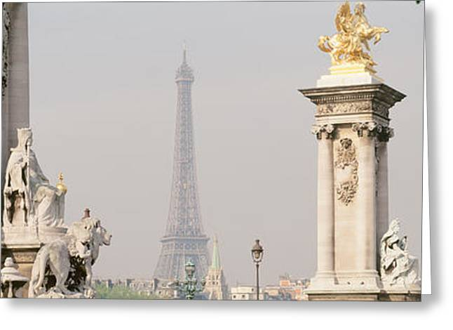 Low Angle View Of A Statue, Alexandre Greeting Card by Panoramic Images