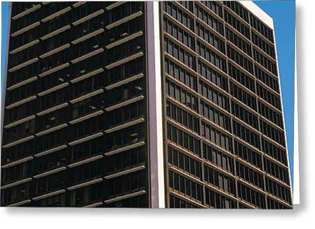Low Angle View Of Bb&t Building Greeting Card by Panoramic Images