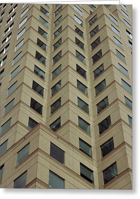 Low Angle View Of Building, Two Greeting Card by Panoramic Images