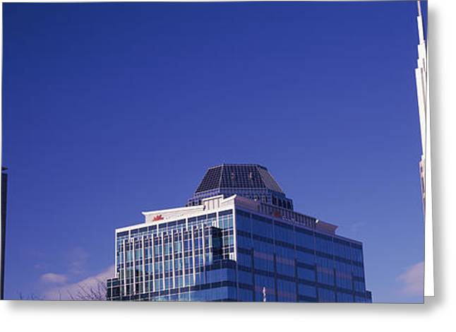 Low Angle View Of Buildings, Nashville Greeting Card by Panoramic Images